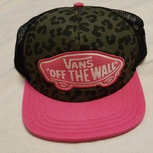 Girls Vans hat